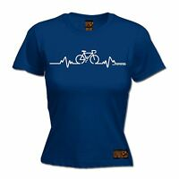 Pulse WOMENS T-SHIRT Cycling Bicycle Riding Medic Doctor Funny birthday gift