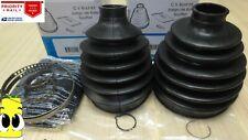 Inner & Outer CV Axle Boot Kit for GMC Sierra 1500 HD w/ 4x4 2001-2007 EMPI