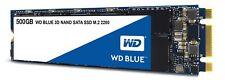 WD Blue 3D NAND 500GB PC SSD - SATA III 6 Gb/s M.2 2280 Solid State Drive WDS5