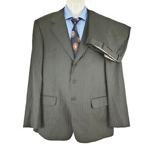 Tanzarelli Guabello Italy Mens 2 PCs Suit Super 150 Sz EU 58 AU48 SU20