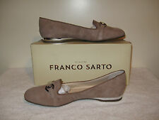 Franco Sarto Gerry Loafer Flat Womens NIB Mushroom Beige 8M MSRP $85