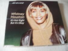 WHITNEY HOUSTON - IT'S NOT RIGHT BUT IT'S OK - 1999 UK CD SINGLE - PART 1