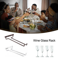 Wine Glass Rack Stainless Steel Wine Glass Holder Wall Mounted Hanging Hanger