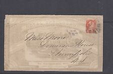 Small Queen 1881 all over advertising FANCY cancel St. Catherines Canada cover