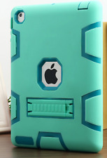 Shockproof Heavy Duty Rubber Hard Stand Case Cover For Apple iPad 2/3/4 MINT NEW