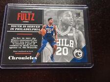 2017-18 Panini Chronicles MARKELLE FULTZ ROOKIE - Philadelphia 76ers