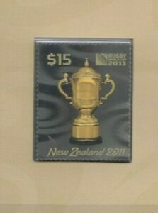 Rugby World Cup $nz15 presentation pack MNH - SG 3313