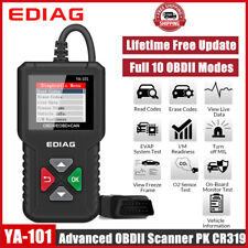 Automotive OBD2 Fault Code Reader Diagnostic Scanner Tool and 12V Battery Tester
