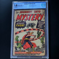 JOURNEY INTO MYSTERY #83 (1962) 💥 1.8 OW-W CBCS 💥 1ST APP OF THOR! MEGAKEY