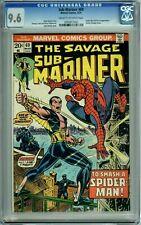 SUB-MARINER 69 CGC 9.6 SPIDER-MAN FORCE DR DOCTOR STRANGE Marvel COMICS 1974