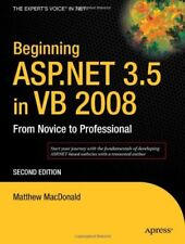 Beginning ASP.NET 3.5 in VB 2008 From Novice to Professional 2nd Edition By Mat