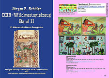 "(0002) ""DDR-Wildwestspielzeug Teil 1, Band II"" OVPs - NEU  2.Ausgabe"