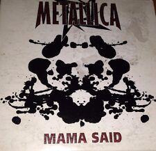 Metallica Mama Said CD Single Super Rare 1996 (Edit) (Demo) James Hetfield Load