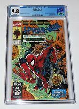 "Spider-man #6 part 1 of 2 CGC 9.8!  Todd McFarlane at his Marvel ""Spidey"" best!"