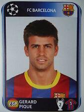 Panini 212 Gerard Pique FC Barcelona UEFA CL 2010/11