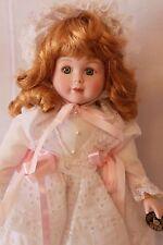 "Brinn's 1990 16""  Doll  ""GRACE""  Porcelain/Cloth  Authentic Collectible Edition"