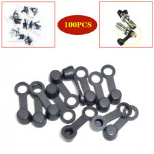 100PCS Motorcycle Car brake Caliper Bleeder Screw Caps Cap Oil Drain Pump Cover