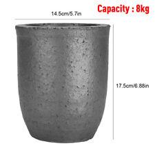 4/6/8kg Graphite Crucible Furnace Casting Gold Silver Copper Melting Smelting AU