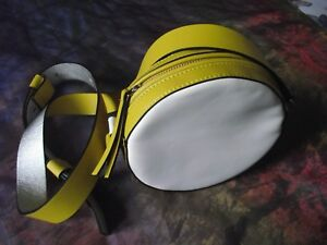 M&S Collection Round Shoulder Cross Body Mod Gogo Go Go Swinging 60s Style Bag