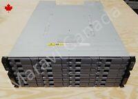 NetApp DS4246 Disk Array w/ 24x SAS Trays 2x IOM6 2x 580W PSU 4U Expansion Shelf