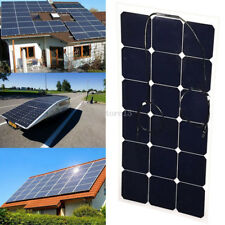 60W 10V Elfeland Flexible Solar Panels Power USB Charge Battery Boat Cabin Yacht