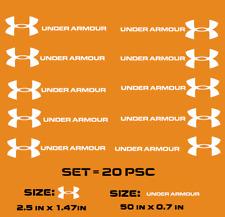 """ under armour "" Iron-On Logo Diy T-Shirt Clothing Transfer Sticker"