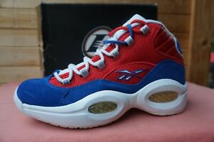 """2014 Reebok Question Mid """"Banner"""" (0515 of 1996) Size 9.5 (3271) M46120"""
