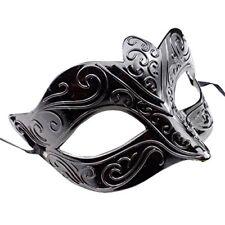 Venetian Mask #2 Mitternacht Black Men's Women's Masquerade Costume Shades