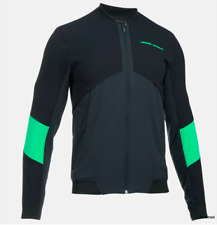 Under Armour Men's Pitch Coldgear réacteur Veste D'aviateur Noir-L Rrp £ 130