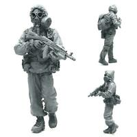 LAS-14 1/32 Resin soldier model Gaz mask 5cm Nice P1F3 W6Q9 D5Z5