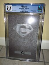 D. C. Comics Superman #75 1/93 poly bag platinum edition 4623 back cover CGC 9.4