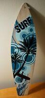 SURF LOCALS ONLY SURFBOARD SIGN Tiki Bar Beach Surfing Surfer Home Decor NEW