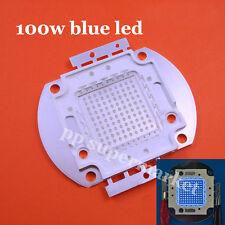 100W 100 Watt blue High Power LED beads Light Lamp Chip 450-465NM 45mil