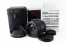 【NEAR MINT】 SIGMA 17-50mm F2.8 EX DC HSM  Zoom Lens For Pentax!   ♯0189