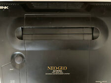 NEO GEO AES US GOLD CONSOLE LOW SERIAL# PACKAGE