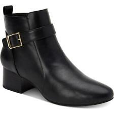 Charter Club Womens Katiaa Black Ankle Boots Shoes 8.5 Medium (B,M) BHFO 5933