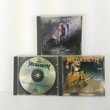 Megadeth CD Lot Of 3 Countdown To Extinction So Far So Good So What Peace Sells