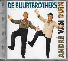 ANDRE VAN DUIN - De Buurtbrothers CD Album 14TR Holland 1996 (DINO) RARE!