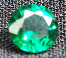 .60CT  ROUND GREEN HYDROTHERMAL EMERALD AAA LAB GEM