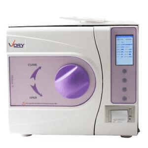Veterinary 6 program Class B Pre & Post Vacuum Autoclave sterilizer+Data Printer