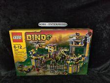 LEGO 5887 DINO DEFENSE HQ Jurassic T-Rex Raptor Dinosaur 793 pcs RETIRED x-11