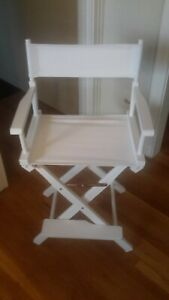 """2 Casual Home 24"""" Director's Chairs, New"""