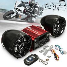 ADV Sport Bike Motorcycle 12V Stereo Audio Speaker USB FM Radio MP3 Player Kits