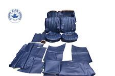 Housse de siège pour Mercedes W108 W109 W111 W110 190 aileron Bleu NEUF