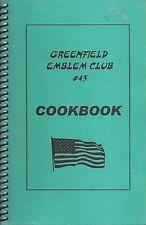 GREENFIELD MA EMBLEM CLUB #43 COOK BOOK * MASSACHUSETTS COMMUNITY LOCAL RECIPES