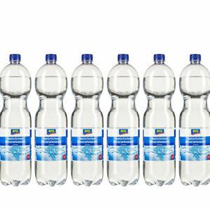 Natürliches Mineralwasser Classic 6 x 1,5 l Flaschen (6x1,5L) (1,65€/1l)