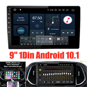 """9"""" 1DIN Android10.1 1080P Touch Screen WiFi 2G+32G Car Stereo GPS MP5 Player"""