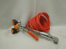 GUARDIAN G5046 EYE WASH UNIT WITH DRENCH HOSE &  L108 BACK FLOW PREVENTER  NSO