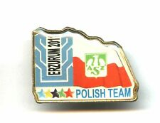 Winter Universiade Erzurum TURKEY 2011 - Team POLAND pin badge