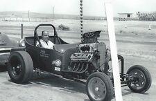 "1950's Drag Racing-""Wild Willy"" Borsch-Jim's Auto Parts A/Roadster-Blown Hemi"